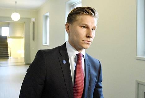 Oikeusministeri Antti Häkkänen (kok)