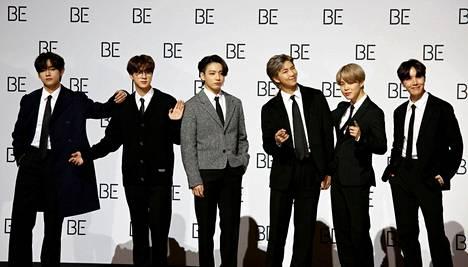 Korealainen BTS on tällä hetkellä maailman suosituin poikabändi.