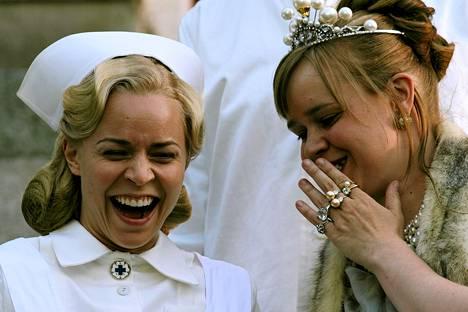 Paula Vesala ja Katja Kukkola Arto Halosen elokuvassa Prinsessa.
