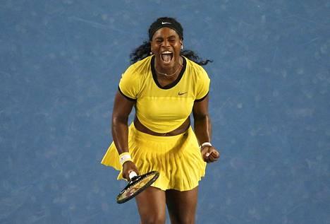 Serena Williams pelaa seuraavaksi Miamissa.