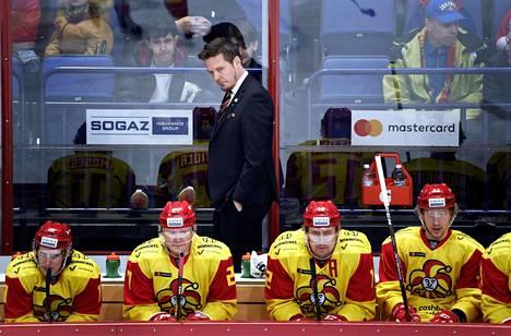 Lauri Marjamäki toimii Jokereiden päävalmentajana toista kauttaan.