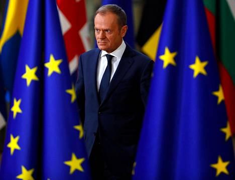 Eurooppa-neuvoston puheenjohtaja Donald Tusk