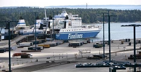 Vuosaaren satama Helsingissä.