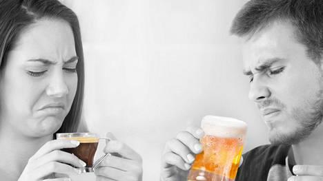 Harva pitää kahvista tai oluesta ensimaistamalla.