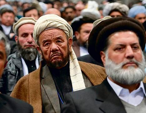 Afganistanin kansanneuvostoon osallistui torstaina muun muassa poliitikkoja ja heimojohtajia.
