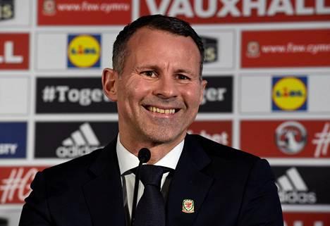 Ryan Giggs on Walesin uusi päävalmentaja.