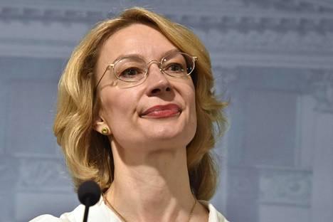 Eurooppaministeri Tytti Tuppurainen.