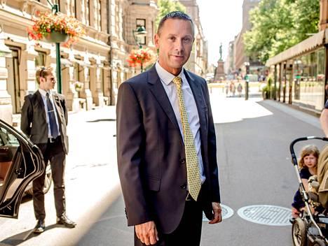 Caverionin uusi toimitusjohtaja Fredrik Strand korostaa osaamisesta olevan hyötyä, kun teknologia lisääntyy rakentamisessa. Yhtiö toimittaa esimerkiksi sähköistys-, lämmitys- ja ilmanvaihtojärjestelmiä.