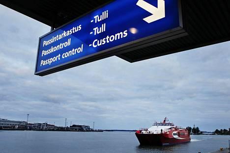 Linda Linen katamaraanit ehtivät liikennöidä Helsingin ja Tallinnan väliä 20 kesän ajan.