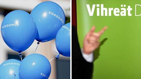 Kokoomus ja vihreät ovat suomalaisnuorten suosikkipuolueita.
