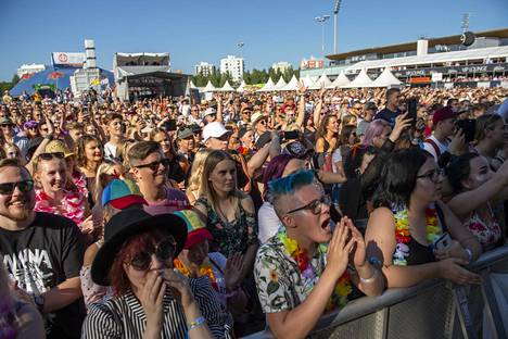 Oulu's Qstock has been a sold-out event in recent years.  Pictured are summer 2018 moods.