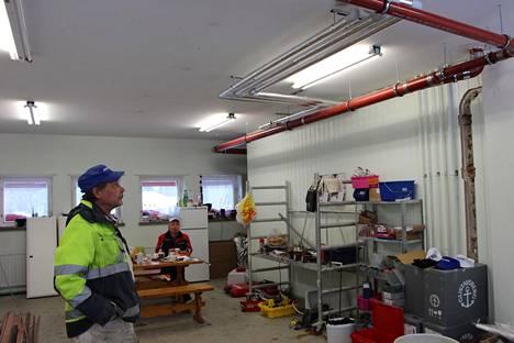 Isännöitsijät toimivat taloyhtiön puolesta ison mittaluokan hankkeissa, kuten putkiremonteissa.