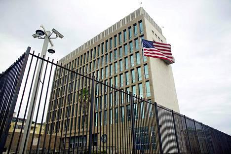 Yhdysvaltojen suurlähetystö Kuuban Havannassa.