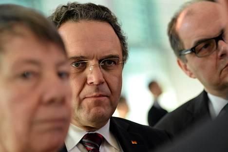 Saksan maatalousministeri Hans-Peter Friedrich kuvattiin Berliinissä helmikuussa.