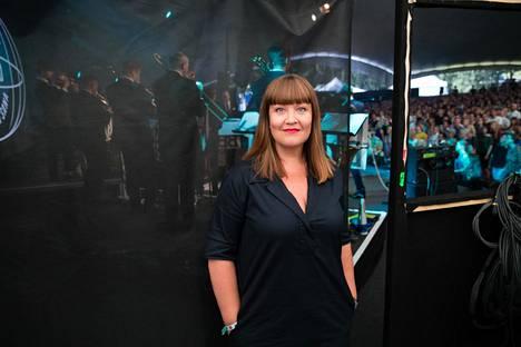 Pia Raitala on ollut kahta vaille jokaisella Ricky-Tick Big Bandin ja Julkisen Sanan keikalla. Syyskuun alun Huvila-teltan loppuunmyydyissä konserteissa alkoi häämöttää jo loppu: jazzorkesteri ja räppärit lopettavat seitsemän vuotta jatkuneen yhteistyönsä joulukuussa.