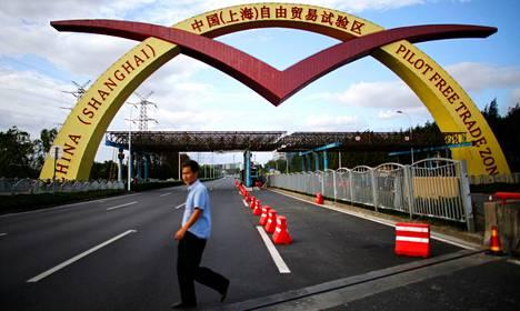 Shangain vapaakauppa-alueella etenkin rahoitusalan rajoitukset ovat tavanomaista lievemmät.