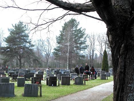 Malmin hautausmaa Helsingissä.