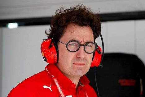 Ferrarin tallipäällikkö Mattia Binotto myöntää, että Ferrari lähtee kauteen takamatkalta.