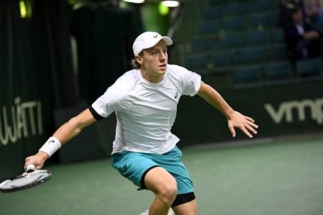 Emil Ruusuvuori eteni Talin ITF-tennisturnauksen finaaliin 17. marraskuuta 2017.
