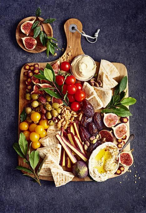 Vegaanisen tarjottimen makumaailma tulee Libanonista.