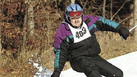 Special Olympics -kisoissa lajina on muun muassa pujottelu.