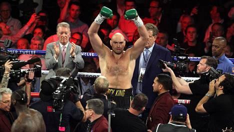 Tyson Fury otteli edellisen kerran 22. helmikuuta 2020, jolloin hän nousi WBC-liiton mestariksi.