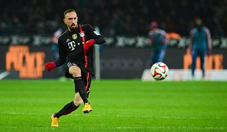 Franck Ribery on Bayernin suurimpia tähtiä.