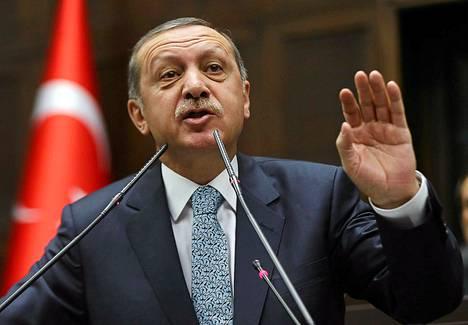 Turkin pääministeri Tayyip Erdogan