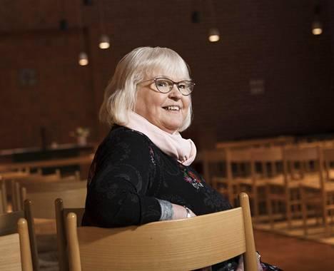Leila Sepponen iloitsi, kun asiakas ei joutunutkaan ulos asunnostaan.