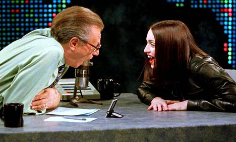 Madonna visited Larry King Live in January 1999.