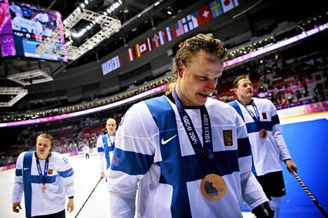 Lasse Kukkonen oli voittamassa pronssia Sotšin olympialaisissa.