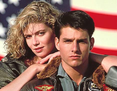 Imelä hitti säesti Kelly McGillisin ja Tom Cruisen rakkaustarinaa Top Gunissa.