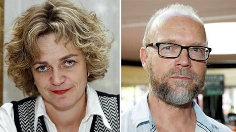Anna Kelo (vasemmalla) on Wagnerin Nibelungin sormuksen ohjaaja Kansallisoopperassa. Kari Heiskanen sai potkut.