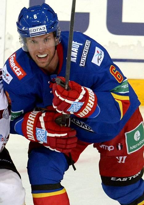 Topi Jaakola teki Jokerien 3–2-voittomaalin maanantai-iltana.