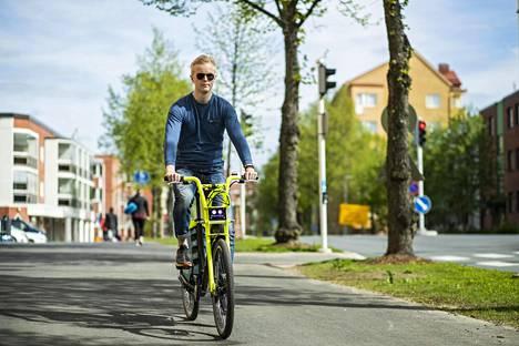 Kaupunkipyörä Kuopio