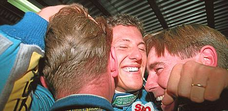 Ensimmäinen MM-titteli tuli Benettonilla vuonna 1994.