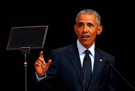 Yhdysvaltain entinen presidentti Barack Obama on NBF:n tähtipuhuja tänä vuonna.