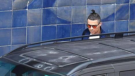 Cristiano Ronaldo saapui Madeiralle 3. maaliskuuta.