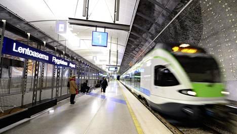 Kehäradan juna-asema Helsinki-Vantaalla voi muodostua raideliikenteen solmukohdaksi, jos maanalainen Lentorata Keravalta Pasilaan joskus toteutuu.