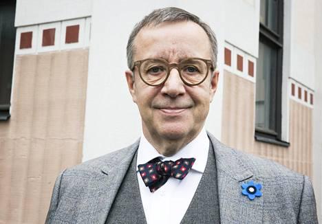 Viron edellinen presidentti Toomas Hendrik Ilves.