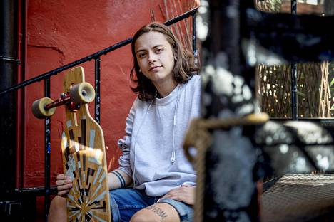 """Oslolainen Noah Lindaas, 20, vahvisti juridisen sukupuolensa heti kun se oli mahdollista. Nyt hän kokee saaneensa uuden elämän. """"Arvostan sitä, että olen onnellinen, koska todella tiedän, mitä on olla onneton."""""""