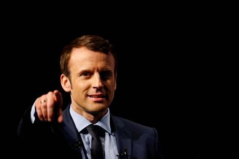 Ranskan uusi presidentti Emmanuel Macron.