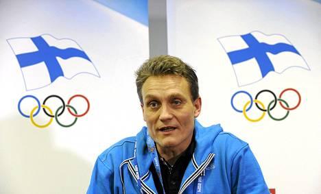 Suomen olympiajoukkueen johtaja Mika Kojonkoski