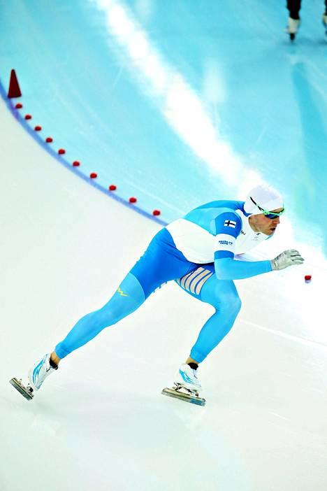 Mika Poutala vuoden 2014 talviolympialaisissa.