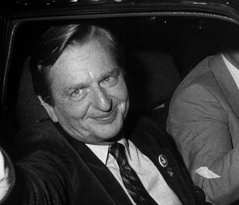 Olof Palme vuonna 1982.
