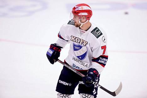 Teemu Turunen teki HIFK:n ainoan maalin.