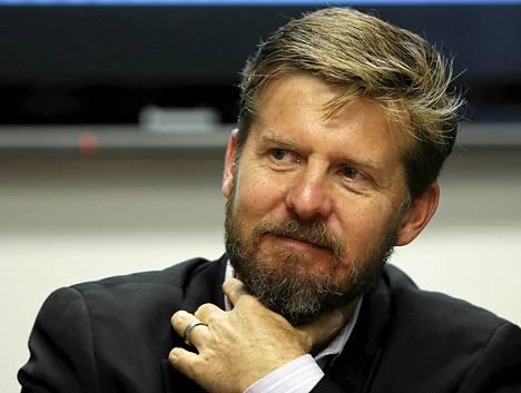 Tietoturvayhtiö Cylancen toimitusjohtaja Stuart McClure.