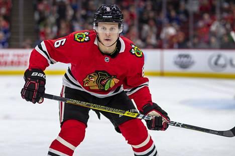 Olli Määttä oli ainoa suomalainen pistemies sunnuntain NHL-kierroksella.