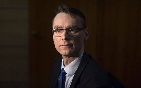 Oikeuskansleri Tuomas Pöysti.