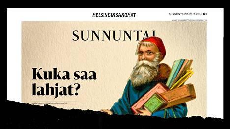 Helsingin Sanomat kertoi Brother Christmasin toiminnan epäselvyyksistä viime sunnuntaina.